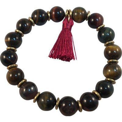 Tassel - Tiger Eye - 5947