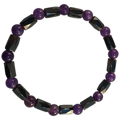 Magnetic stone - Amethyst - 6041